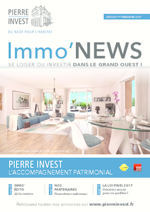 IMMO'NEWS 1er trimestre 2017 - Grand Ouest
