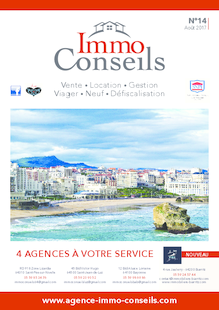 IMMO CONSEILS N°14 - AOUT 2017