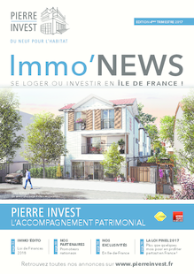 IMMO'NEWS - ILE DE FRANCE - 4ème trimestre 2017